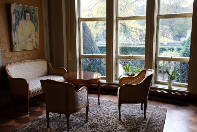Pokój w willi Schulenburga.