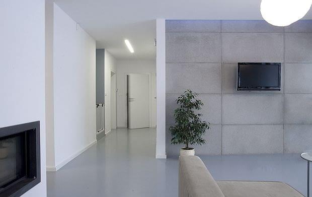 nowoczesny dom, nowocześnie urządzony dom, stylowe wnętrza