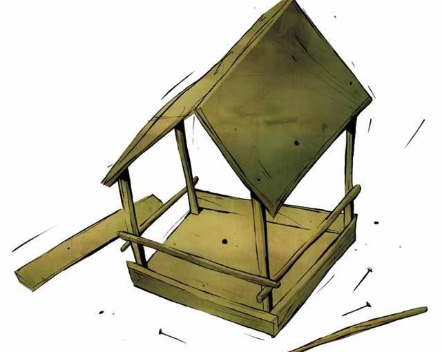 Jeśli do okien zaglądają ptaki, to wyraźny znak, że czas pomyśleć o zbudowaniu karmnika