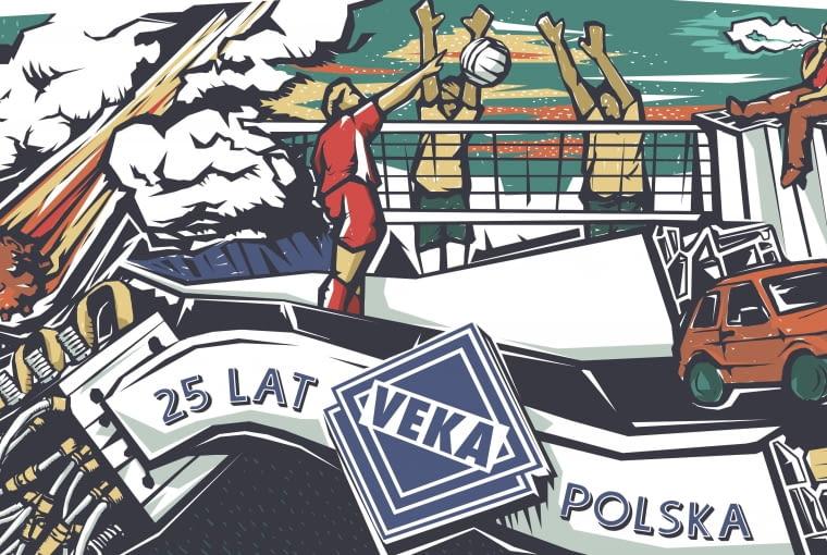 25 lat VEKA Polska na muralu