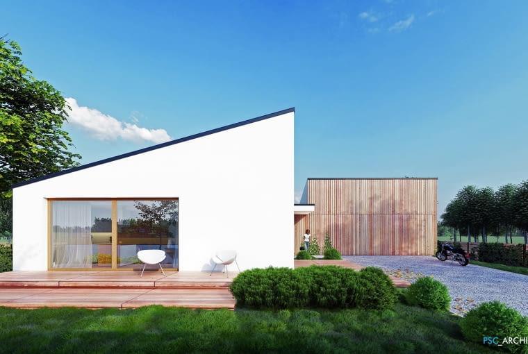 Dom w Lędzinach. Proj. PSC Architektura