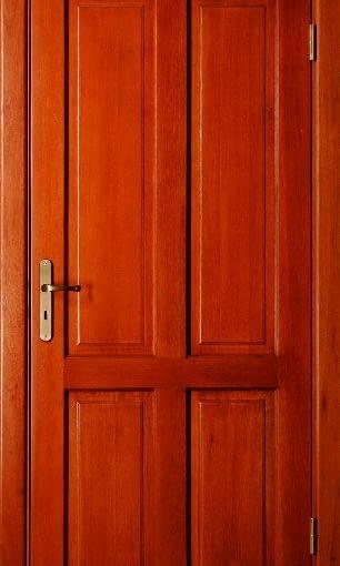 Drzwi wewnętrzne model DW-4, OKTET. Konstrukcja: drewno klejone warstwowo - mahoń, sosna lub dąb. Ościeżnica: drewniana, stała lub regulowana. Wykończenie: powierzchnia drzwi - bejca + lakier. Dostępne wymiary skrzydła: na zamówienie. Cena skrzydła z ościeżnicą, bez klamki: 1740 (drzwi ze zdjęcia, luty 2009). Więcej informacji www.oktet.pl