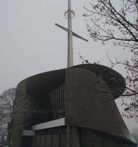 Kościół NMP Królowej Polski, tzw. Arka Pana w Krakowie (Nowa Huta, ul. Obrońców Krzyża), fot. Anna Cymer