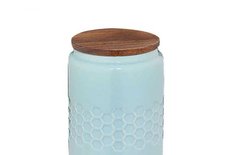 W stylu tego wnętrza: Pojemnik, ceramika i drewno, wys. 14,5 cm, 59,90 zł, fide.pl