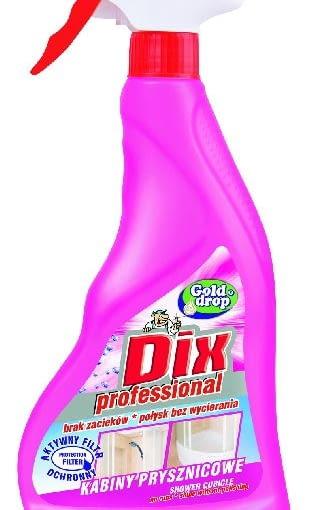Dix professional do kabin prysznicowych, firmy GOLD DROP