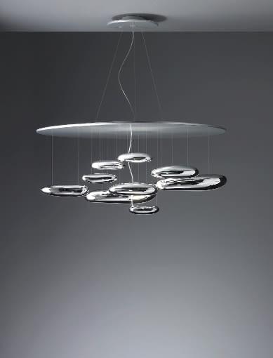 Spektakularna lampa Mercury projektu Rossa Lovegrove'a.