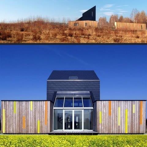 Dom własny Piotra Kuczii, Modelowy Dom Ekologiczny koło Pszczyny, 2007
