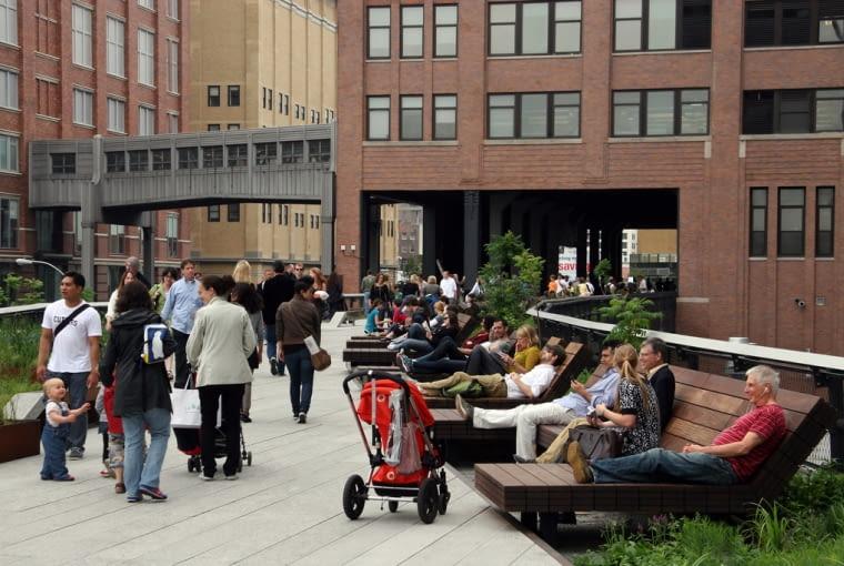 Park High Line w Nowym Jorku