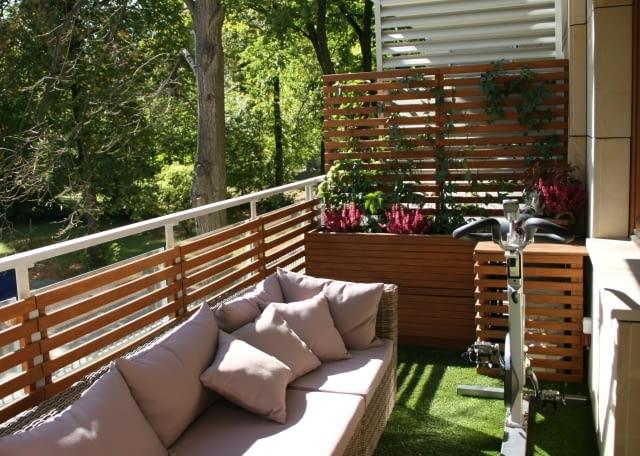 Balkon wypoczynkowo-rekreacyjny