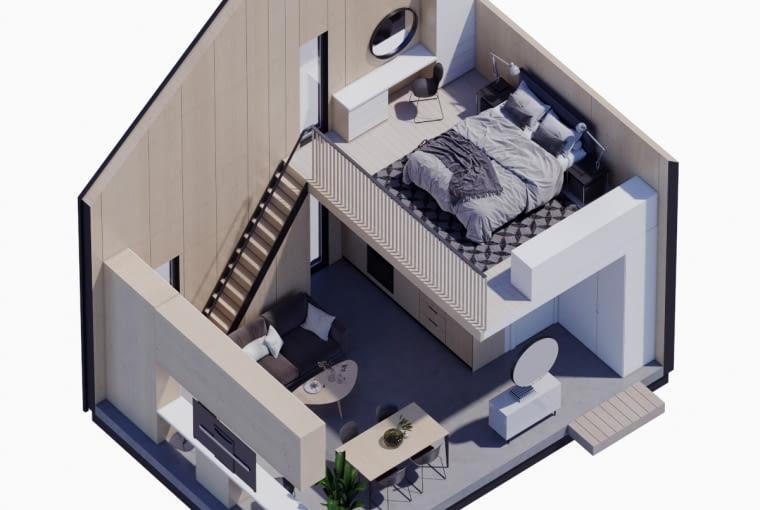 Modulo House - schemat