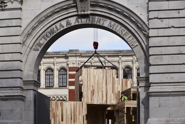 Pawilon MultiPly na Festiwalu Designu w Londynie