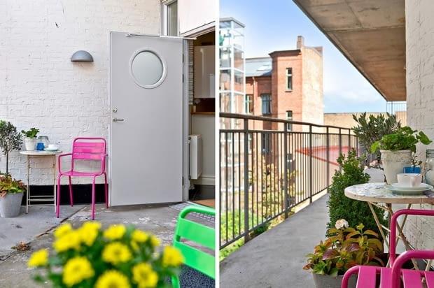 Trzypokojowe mieszkanie w skandynawskim stylu