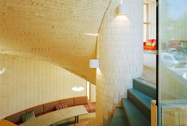 Dom własny architekta w Espoo (Gastropod-house) w Finland, proj. Olavi Koponen