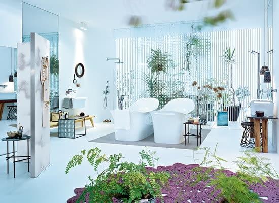 łazienka Axor dla Hansgrohe; projekt: Particia Urquiola