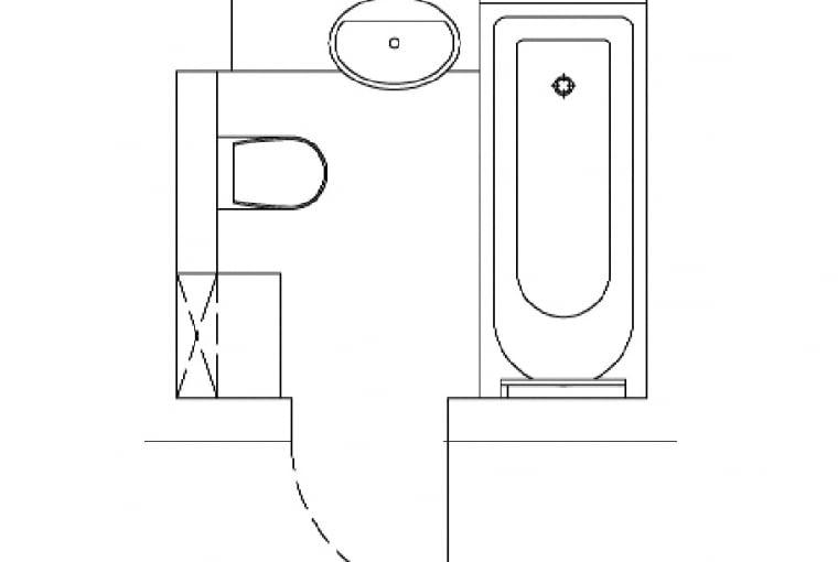 Plan łazienki