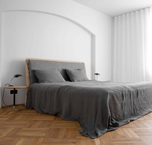 Sypialnia gospodarzy.