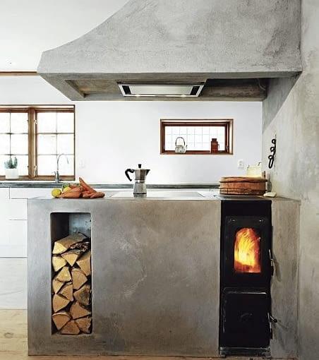 skandynawski styl, dom w Skandynawii, naturalne podłogi