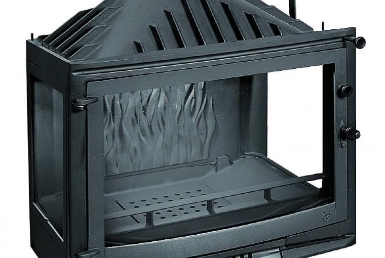 Uniflam 700 Selenic/GALERIA KOMINKÓW   Moc: 14 kW   przeszklenie z 3 stron   paliwo: drewno   szyber do regulacji siły ciągu, doprowadzenie powietrza do spalania z zewnątrz. Cena: 2849 zł, www.galeriakominkow.pl