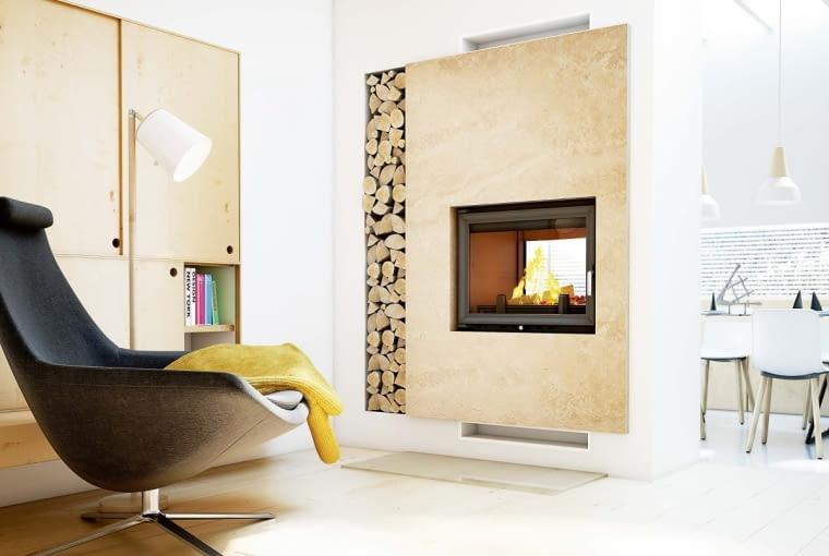 Kominek, tak jak piec wolno stojący, należy podłączyć do odpornego na wysoką temperaturę i wilgoć komina.
