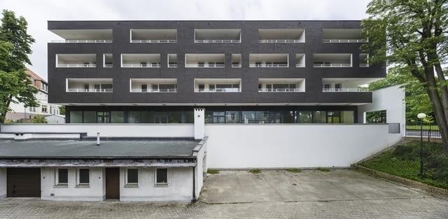 Budynek mieszkalny ZW109, Koszalin, proj. HS99, fot. Jakub Certowicz, źródło: http://hs99.pl/