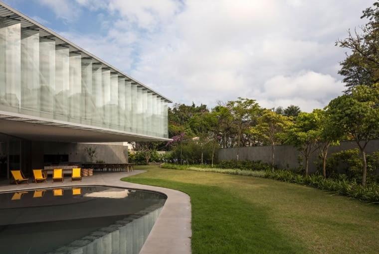 Willa w S?o Paulo, projekt: Bernardes Arquitetura