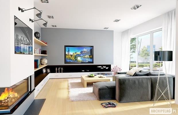 projekty domów, realizacje domów, salon