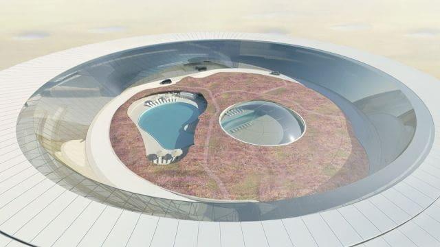 VMX Architects, Hilton, Ordos, hotel