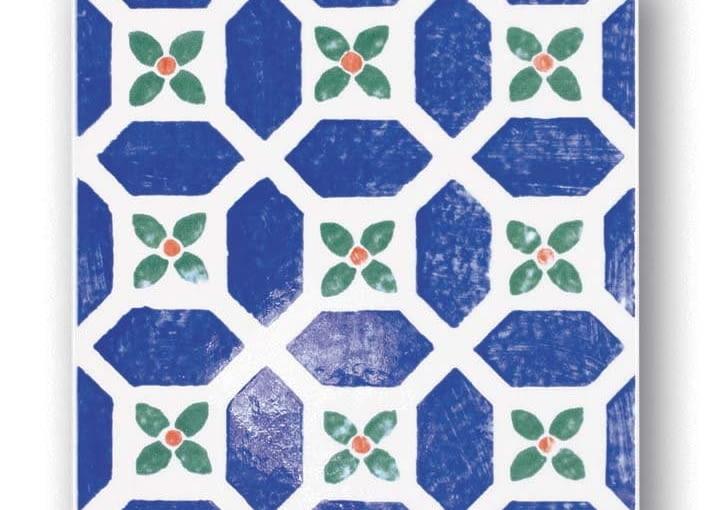 Dekor ścienny ceramiczny, Avignon 15, Kolekcja Majolika, Tubądzin, tubadzin.pl
