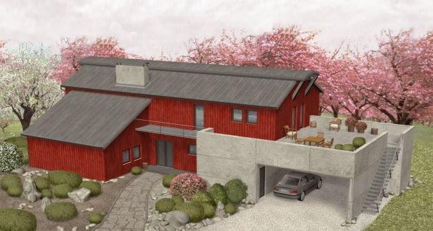 projekt domu, projekty domów, dom jednorodzinny