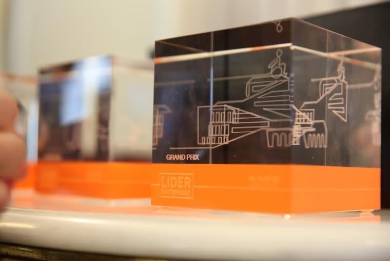 Uroczystość wręczenia nagród w drugim konkursie Architektoniczno-Urbanistycznym Integracji - 'Lider Dostępności'