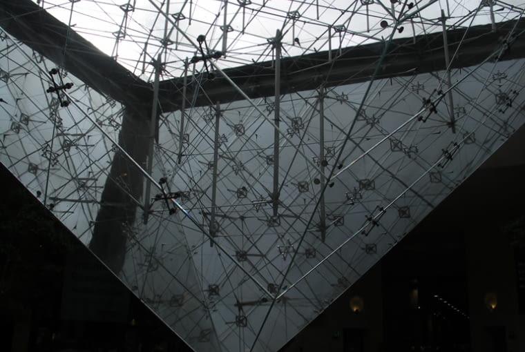paryz, muzeum, luwr, pei