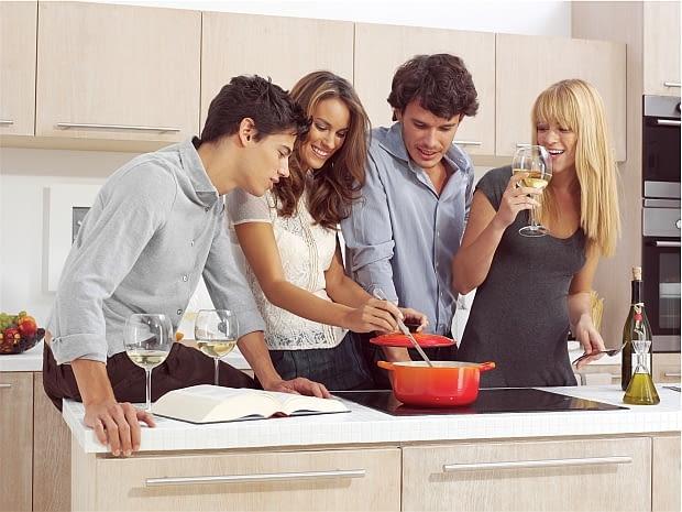 kuchnie polaków, jak mieszkają polacy