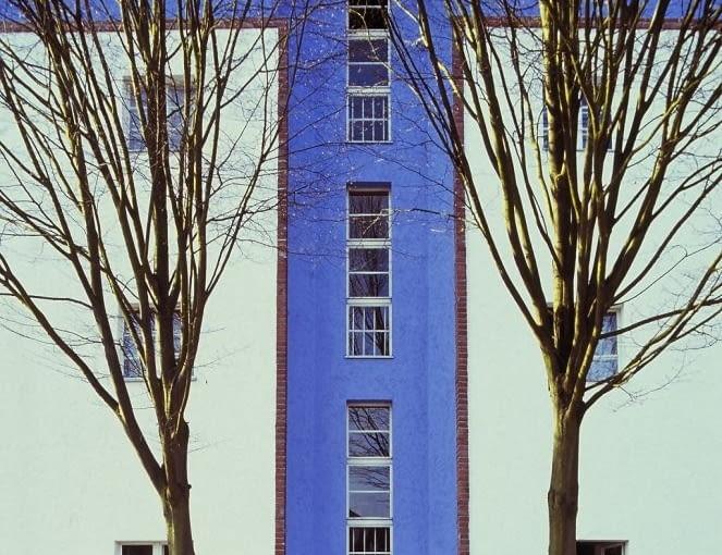 Osiedle-Podkowa (Hufeisensiedlung) w Britz, z lat 1925-1930, projektu Brunona Tauta