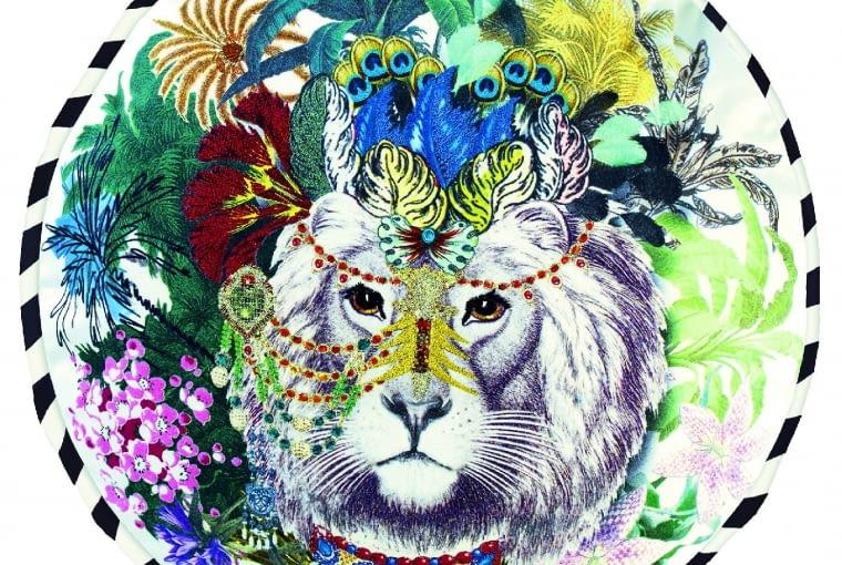 Ekstrawagancja? Tak, jeśli dzięki niej twój dom będzie unikalny. Christian Lacroix/Designers Guild. www.designersguild.com