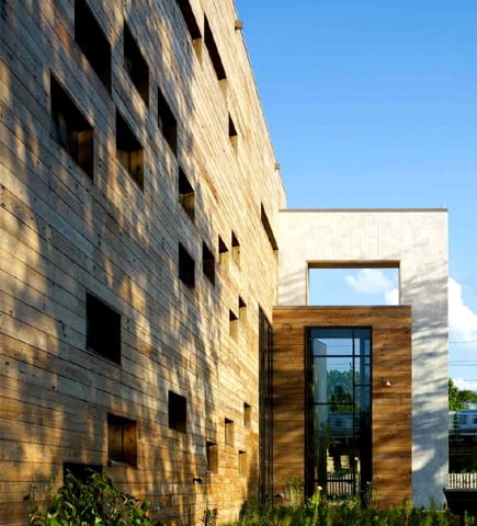 zrównoważone budownictwo, architektura sakralna, kościół, ekologia, drewno, zielona architektura, usa, budynek
