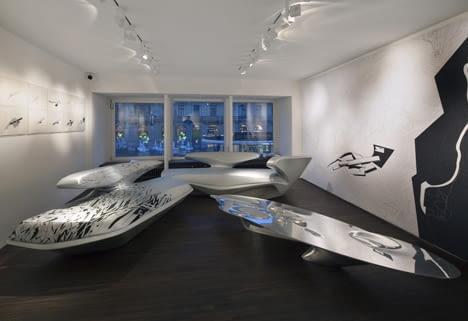"""Wystawa """"Zaha Hadid and Suprematism"""" w Galerie Gmurzynska w Zurichu"""