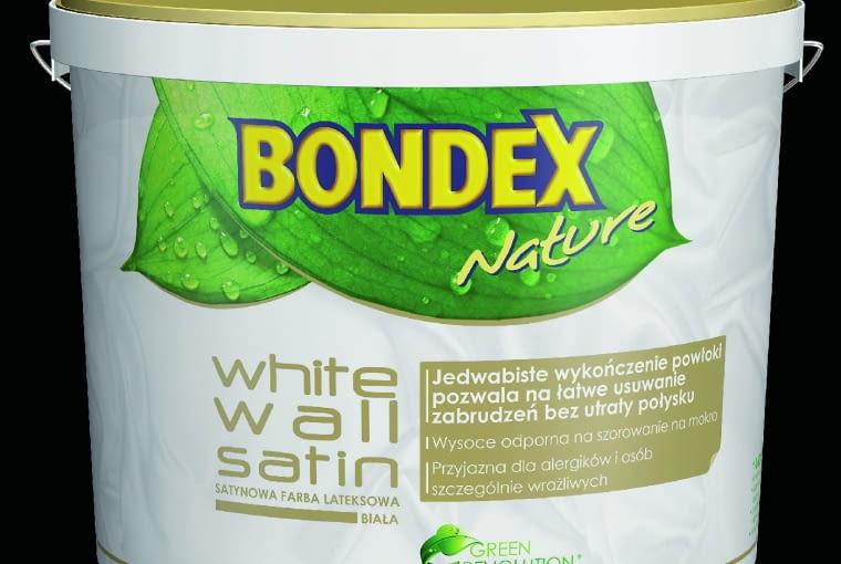 White Lotos Satin Bondex/PPG DECO POLSKA| Rodzaj: farba lateksowa | nie chlapie podczas malowania, łatwa w aplikacji, pozwala ścianom oddychać | przyjazna dla alergików| wydajność: do 12 m2/l | odporność na szorowanie: klasa 2 wg PN-EN 13300 | opakowania: 5 l, 10 l. Cena: 95 zł/5 l, www.bondex.pl