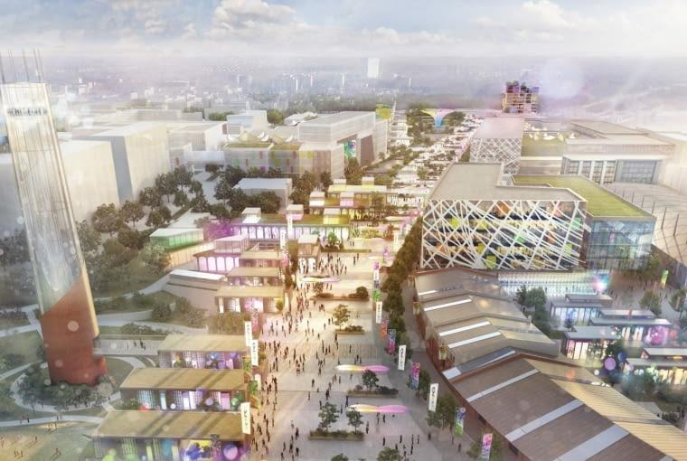 Projekt wystawy na EXPO 2022 w Łodzi