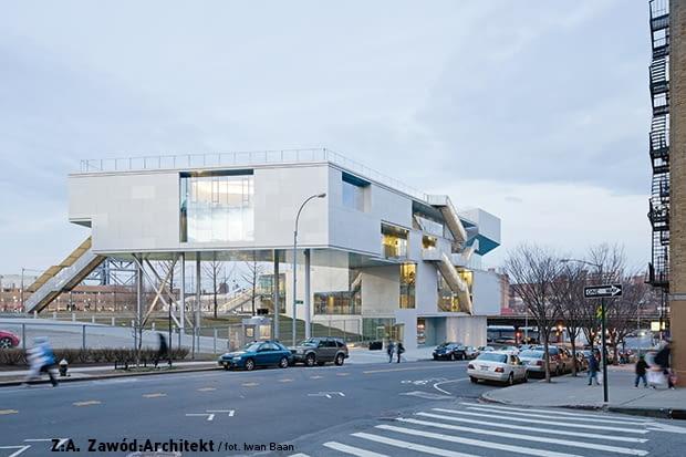 Budynek Campbell Sport Center w Nowym Jorku