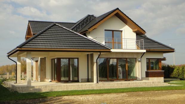 projekty domów, realizacje domów