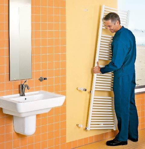 grzejnik łazienkowy,łazienka,grzejniki,grzejnik drabinkowy,drabinka,montaż grzejnika