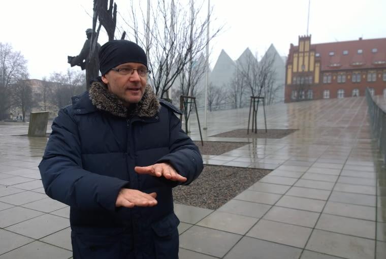 Robert Konieczny, projektant Centrum Dialogu Przełomy