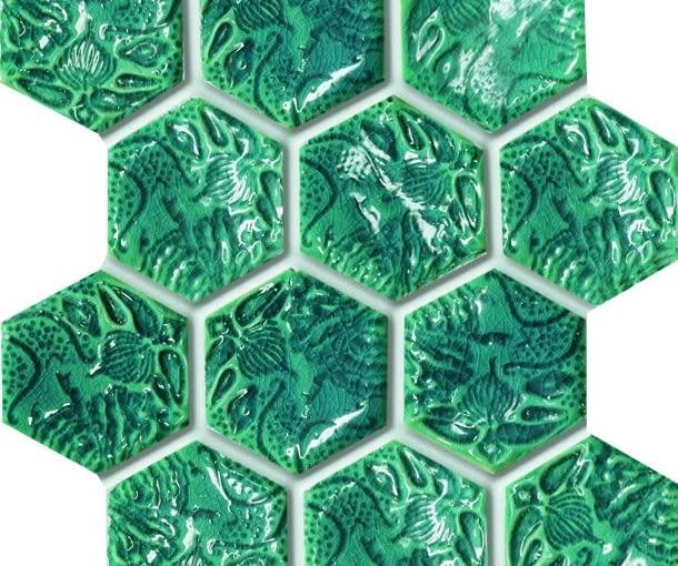 Kolorowe mozaiki projektu Macieja Zienia nie tylko do łazienki