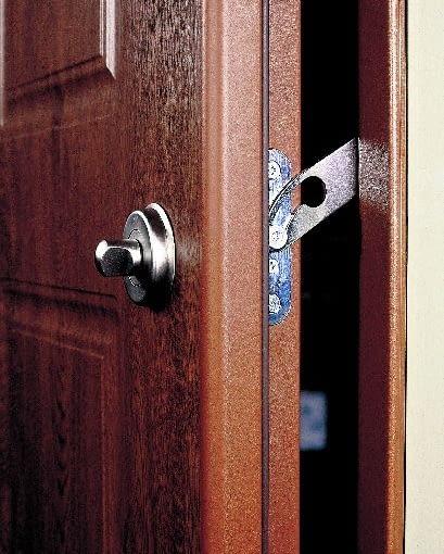 drzwi antywłamaniowe, zapornica