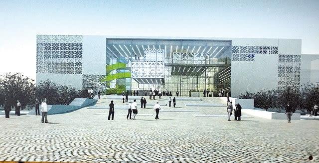 Centrum Nowoczesnego Kształcenia Politechniki Białostockiej - wizualizacja