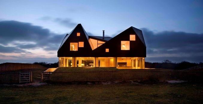 Dom na wydmach autorstwa JVA Architects