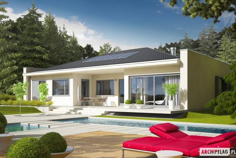 Projekt domu Marlon III G1 (biały)