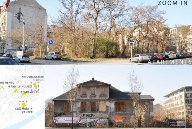 Praca w ramach międzynarodowego projektu Sprostać konsekwencjom II Wojny Światowej, Drezno 2012