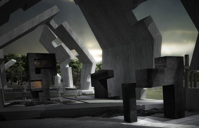 muzeum, projekt, nizio, architektura polska, malzoleum, wsi polskich, michniów