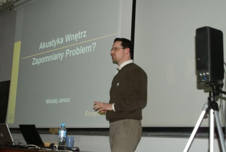 Tomasz Konior, Konior Studio, wykład, architekt
